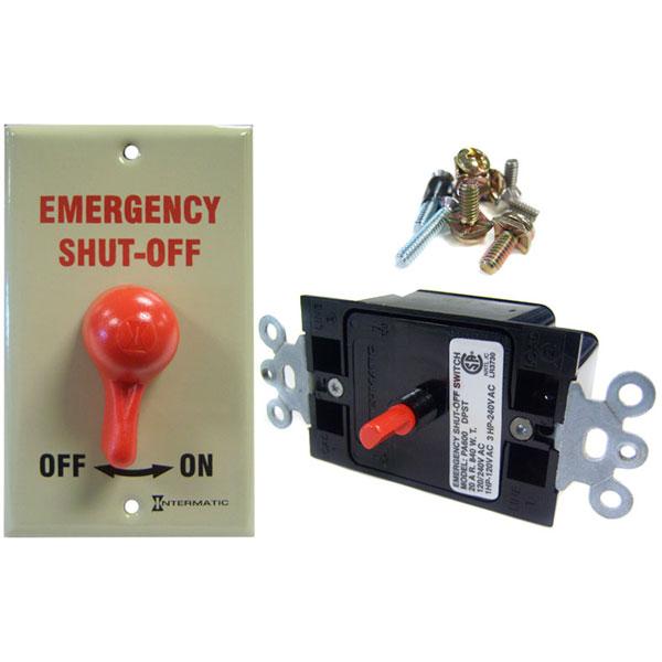 Intermatic 120V / 220V Emergency Shut Off Switch PA600