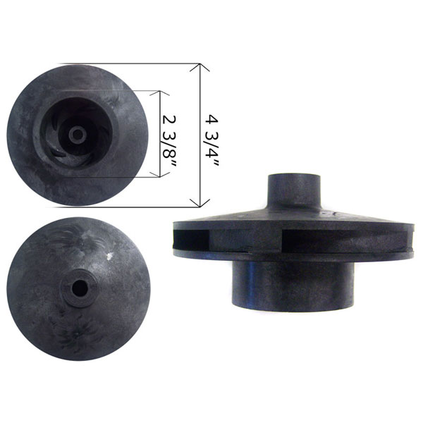 Pentair SuperFlo Pump 2 HP Impeller 355086