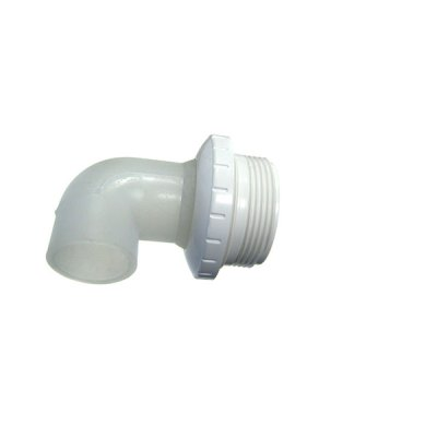 Pool Spa Eyeball Fitting White 1 inch 90 deg. Waterway 400-1410F