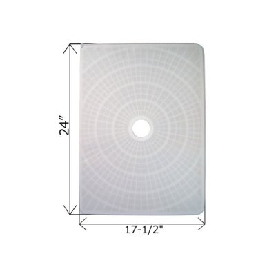 Rectangular DE Grid 24 in. x 17 1/2 in. FG-2417 FC-9750