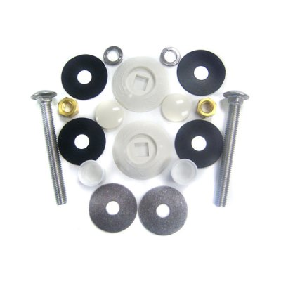 S.R.Smith White Residential Board Mounting Kit 67-209-911-SS