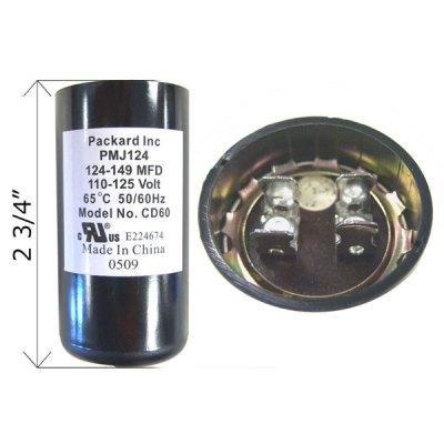 U.S. Seal Capacitor 124-149 MFD 125V BC-124