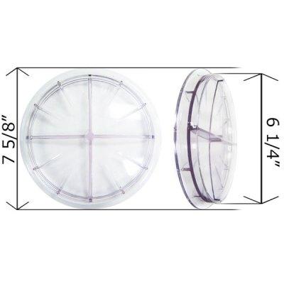 Val-Pak Clear Lid Swimrite S.S. 7 in. Pot Pump V30-442