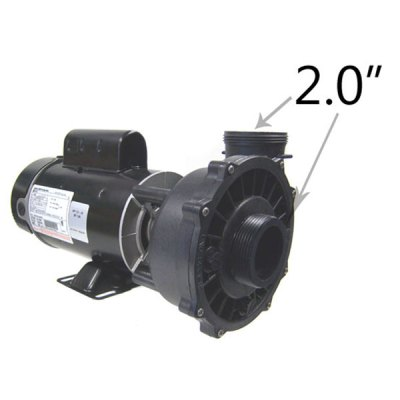 Waterway 2 Speed 1.5 HP 115V Spa Pump 3420610-1A