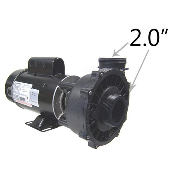 """1 Speed 1.5/""""  Spa Pump Center Dischrg 230V NEW Waterway 3410830-15 1 hp"""