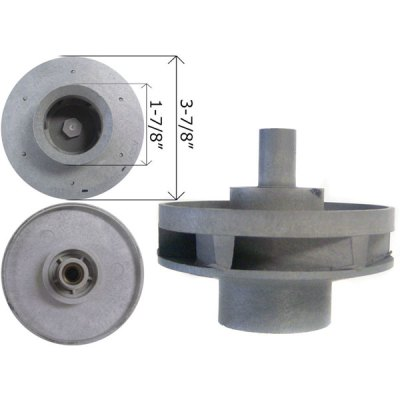 Waterway Impeller Hi-Flo Side Discharge 3 HP Pump 310-4020