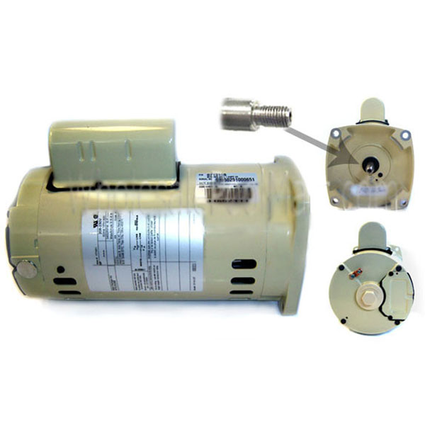 WhisperFlo Pump Pentair 3 HP Almond Motor 071317S 355016S