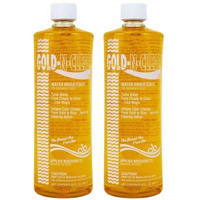 Applied Biochemists Gold-N-Clear Pool Water Clarifier 407803 - 2 Pack