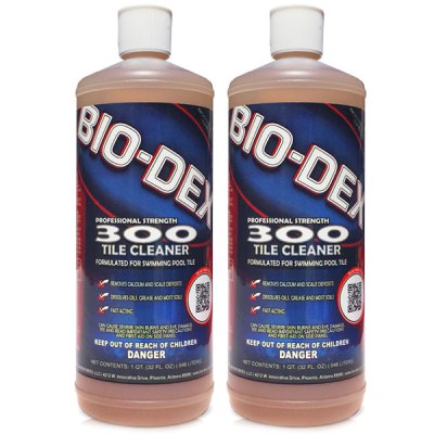 Bio-Dex 300 Swimming Pool Tile Cleaner BD3OO BD300 - 2 Pack