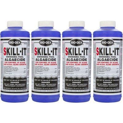 Bio-Dex Fast Acting Pool Algaecide Skill-It 32oz. SK132 - 4 Pack