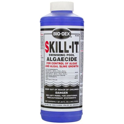 Bio-Dex Fast Acting Pool Algaecide Skill-It 32oz. SK132