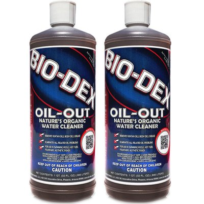 Bio-Dex Oil Out Enzyme Organic Water Cleanser 32oz. OO132 - 2 Pack