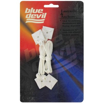 Blue Devil Pool Tablet Floater  Lanyards Anchors 35-Inch B8036C