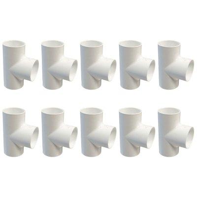 Dura Tee 3/4 in. Slip 401-007 - 10 Pack
