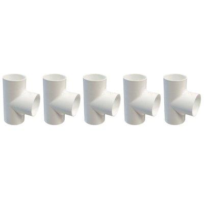 Dura Tee 3/4 in. Slip 401-007 - 5 Pack