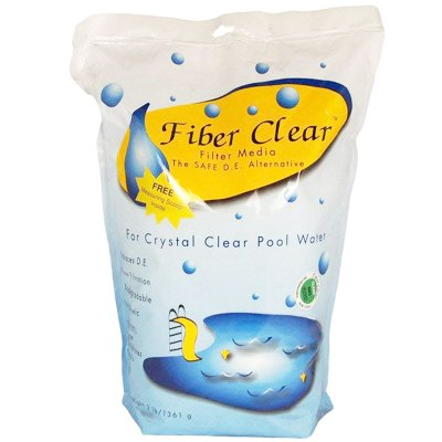 Fiber Clear Cellulose Filter Media D.E. Alternative 3 lb FCR003B