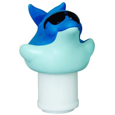 Game Derby Dolphin 3 in. Pool Chlorine Tablet Feeder Floater  1002