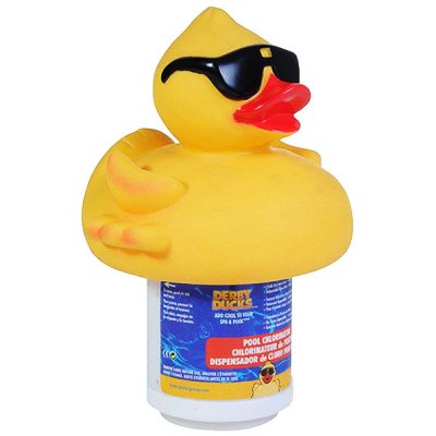Game Derby Duck 3 in. Pool Chlorine Tablet Feeder Floater  4002