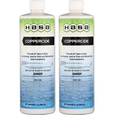 Hasa Coppercide Algea Remover Algaecide 74021 - 2 Pack
