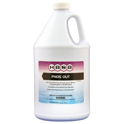 Hasa Phos Out Swimming Pool Phosphate Remover 1 Gal. 77141