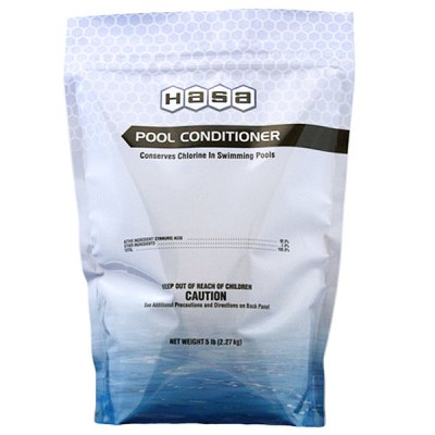 Hasa Pool Water Stabilizer Conditioner Cyanuric Acid 5lb. 11947 65085
