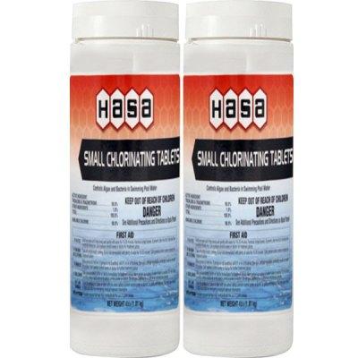 Hasa Small Chlorinating Tablets 2 lbs. 62122 - 2 Pack