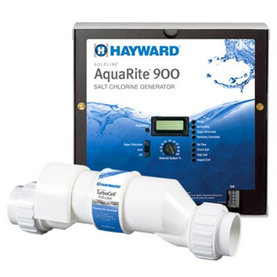 Hayward AquaRite 900 25K Gallon Salt Water Chlorine Generator AQR925
