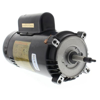 Hayward SP3000 Super II Pump Threaded Shaft 1 HP Motor SPX1610Z1BEE