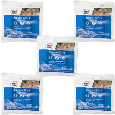 HTH Spa Brom-Start Sodium Bromide Care 2oz. 81107 - 5 Pack