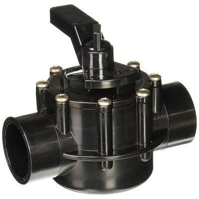 Jandy Neverlube 2-Way CPVC Diverter Valve 1.5in. - 2in. 4724