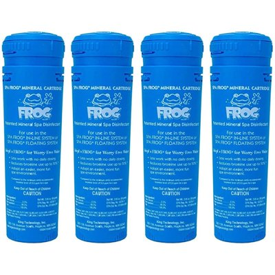 King Technology Spa Frog Floating System Mineral Cartridge 01-14-3812 - 4 Pack