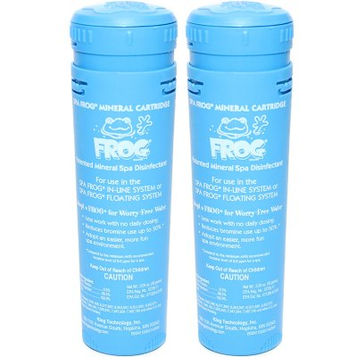 King Technology Spa Frog Mineral Cartridge 01-14-3812 - 2 Pack