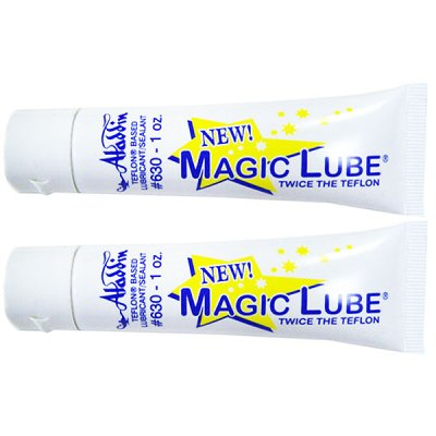 Magic Lube 1 oz. Teflon Based Lubricant Sealant Aladdin 630 - 2 Pack