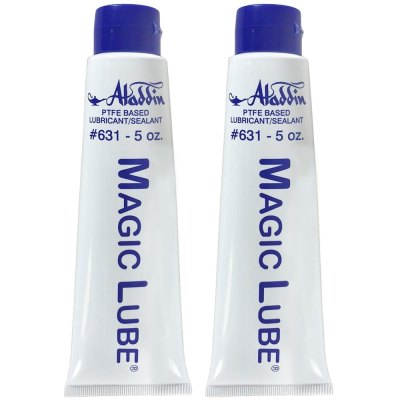Magic Lube 5 oz. Teflon Based Lubricant Sealant Aladdin 631 - 2 Pack