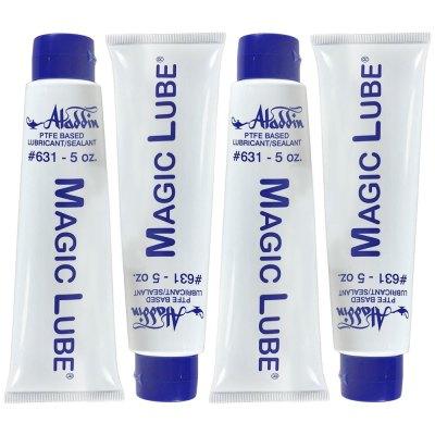 Magic Lube 5 oz. Teflon Based Lubricant Sealant Aladdin 631 - 4 Pack