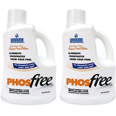 Natural Chemistry 3L Phosphate Remover PhosFree 05121 - 2 Pack