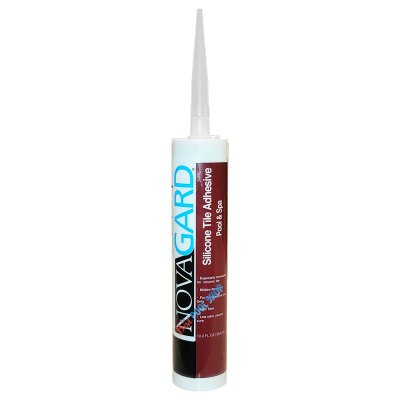 Novagard Swimming Pool Tile Silicone Adhesive White 700-163