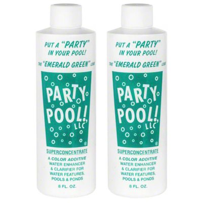 Party Pool Color Additive Emerald Green 8oz 47016-00012 - 2 Pack