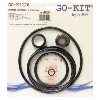 Pentair SuperFlo VS SuperMax Pump Seal Kit GO-KIT78