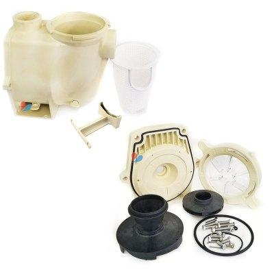 Pentair WFE-3 3/4 HP WhisperFlo Pump Wet Fluid End  075452