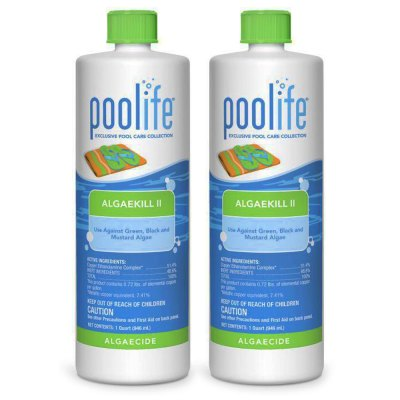 Poolife AlgaeKill II Swimming Pool Algaecide 62070 - 2 Pack