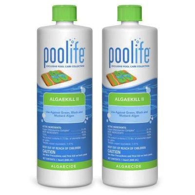 Poolife AlgaeKill II Swimming Pool Algaecide 62070 - 2 Pack