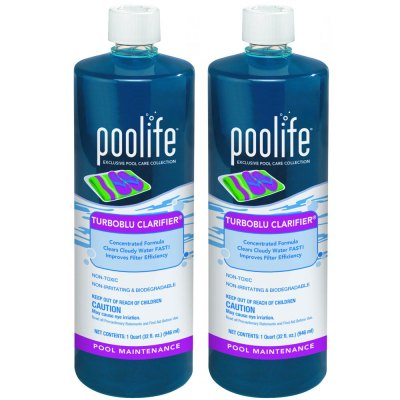 Poolife TurboBlu Pool Water Clarifier 62064 - 2 Pack