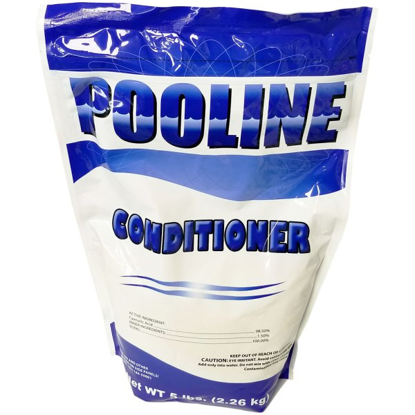Pooline Pool Water Stabilizer Conditioner Cyanuric Acid 5lb. TNJ-11947