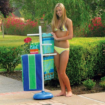Poolmaster Swimming Pool Poolside Towel Tree Hanger 52505