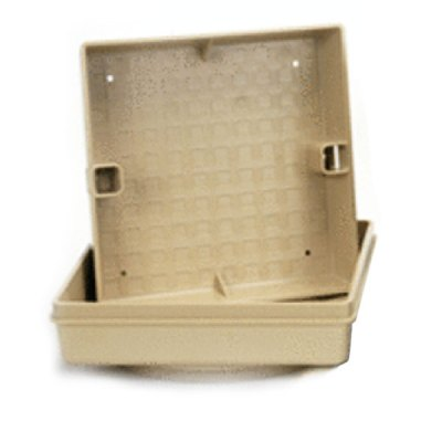 Pour-A-Lead Skimmer Cover 11 in Square Pal Tan SQPALTAN