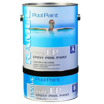 Ramuc EP Epoxy Pool Paint White 908132801