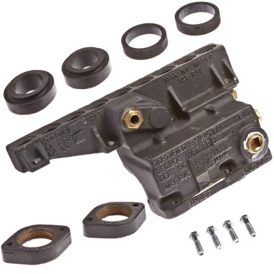 Raypak Pool Heater Cast Iron Complete Inlet Outlet Header 006730F