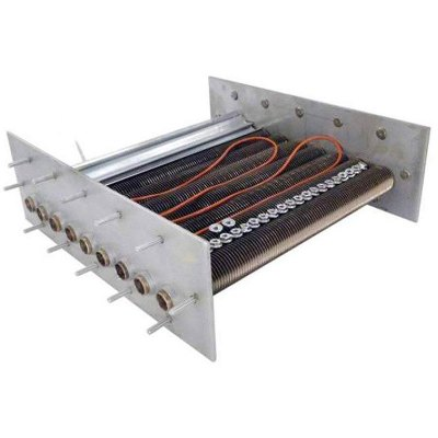Raypak PR206A-PR207A CU-NI Plastic Header Tube Bundle 010364F