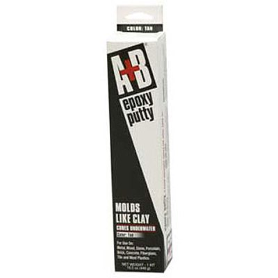 Rezolin A+B Epoxy Putty Kit 14 oz. Tan 9900K